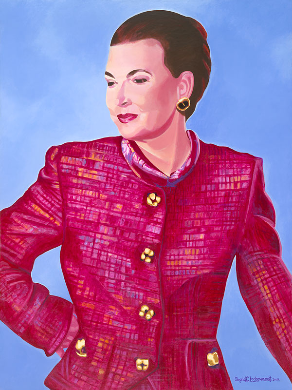 Elizabeth Acrylic on Canvas  30 x 40 inches Collection of the Artist